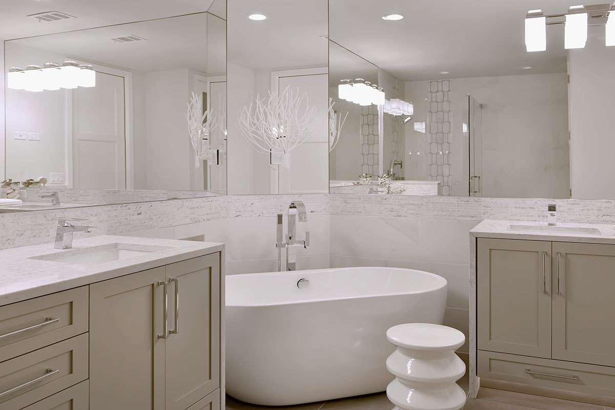 bathroom remodel by Diana Hall Design Naples