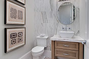 powder room interior design by Diana Hall Design Naples