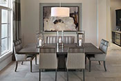 dining room interior design by Diana Hall Design Naples