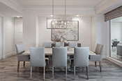 dining room interior design by Diana Hall Design